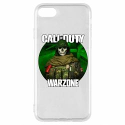 Чохол для iPhone SE 2020 Call of duty Warzone ghost green background