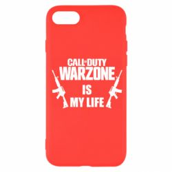 Чехол для iPhone SE 2020 Call of duty warzone is my life M4A1