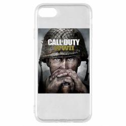 Чохол для iPhone SE 2020 Call of Duty WW2 poster