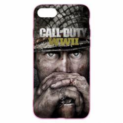 Чехол для iPhone SE 2020 Call of Duty WWII