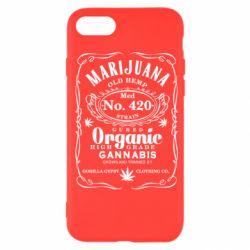 Чохол для iPhone SE 2020 Cannabis label