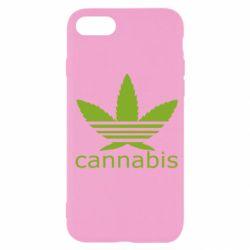 Чохол для iPhone SE 2020 Cannabis