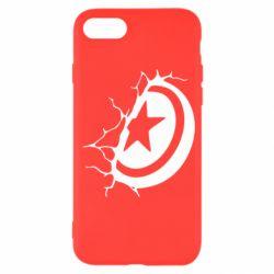 Чохол для iPhone SE 2020 Captain America shield