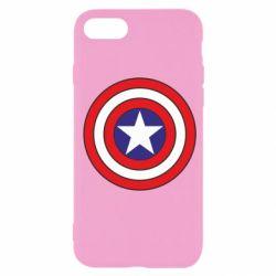 Чехол для iPhone SE 2020 Captain America