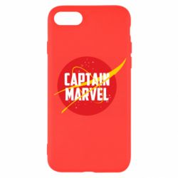 Чохол для iPhone SE 2020 Captain Marvel in NASA style