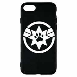 Чохол для iPhone SE 2020 Captain Marvel's Cat