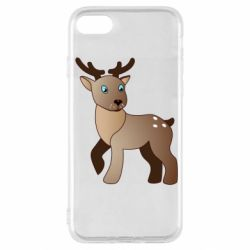 Чехол для iPhone SE 2020 Cartoon deer