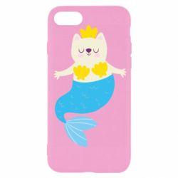 Чохол для iPhone SE 2020 Cat-mermaid