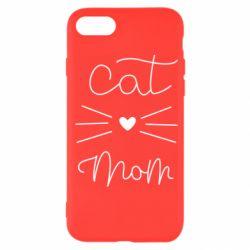 Чохол для iPhone SE 2020 Cat mom