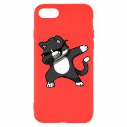Чохол для iPhone SE 2020 Cat SWAG