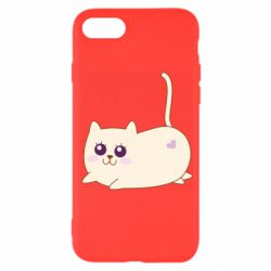 Чехол для iPhone SE 2020 Cat with a smile