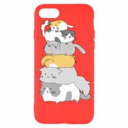 Чохол для iPhone SE 2020 Cats