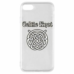 Чохол для iPhone SE 2020 Celtic knot black and white