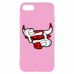 Чехол для iPhone SE 2020 Chicago Bulls бык
