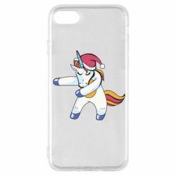 Чохол для iPhone SE 2020 Christmas Unicorn