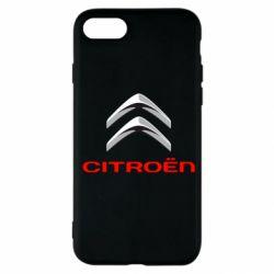 Чехол для iPhone SE 2020 Citroen лого