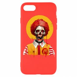 Чохол для iPhone SE 2020 Clown McDonald's skeleton