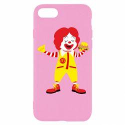 Чохол для iPhone SE 2020 Clown McDonald's