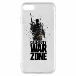 Чехол для iPhone SE 2020 COD Warzone Splash