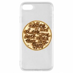 Чехол для iPhone SE 2020 Coffee and love are best when they are hot