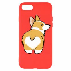 Чохол для iPhone SE 2020 Corgi back