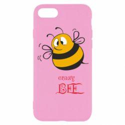 Чехол для iPhone SE 2020 Crazy Bee
