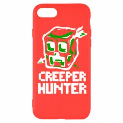 Чехол для iPhone SE 2020 Creeper Hunter