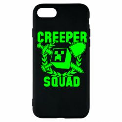 Чехол для iPhone SE 2020 Creeper Squad