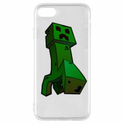 Чехол для iPhone SE 2020 Creeper