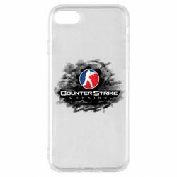 Чехол для iPhone SE 2020 CS GO Ukraine black