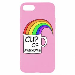 Чехол для iPhone SE 2020 Cup of awesome