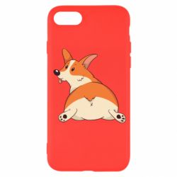 Чехол для iPhone SE 2020 Cute corgi