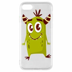 Чохол для iPhone SE 2020 Cute green monster
