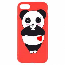 Чохол для iPhone SE 2020 Cute panda