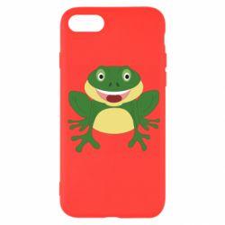 Чехол для iPhone SE 2020 Cute toad