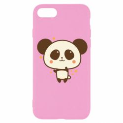 Чохол для iPhone SE 2020 Cute vector pandochka