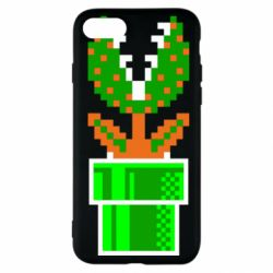 Чохол для iPhone SE 2020 Квітка-людожер Супер Маріо