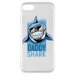 Чехол для iPhone SE 2020 Daddy shark