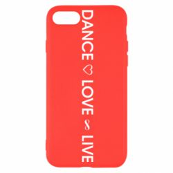 Чехол для iPhone SE 2020 Dance love live