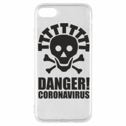 Чохол для iPhone SE 2020 Danger coronavirus!