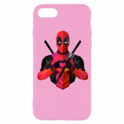 Чохол для iPhone SE 2020 Deadpool Love