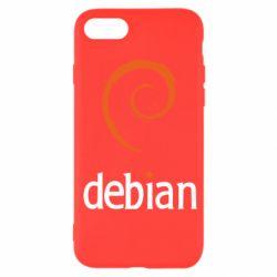 Чехол для iPhone SE 2020 Debian