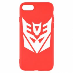Чохол для iPhone SE 2020 Decepticons logo