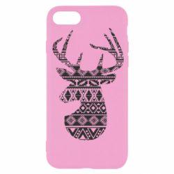 Чохол для iPhone SE 2020 Deer from the patterns