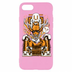 Чехол для iPhone SE 2020 Deer On The Throne