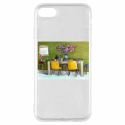 Чохол для iPhone SE 2020 Dining table with flowers