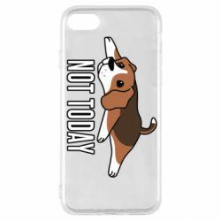 Чехол для iPhone SE 2020 Dog not today