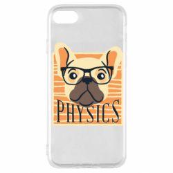 Чехол для iPhone SE 2020 Dog Physicist