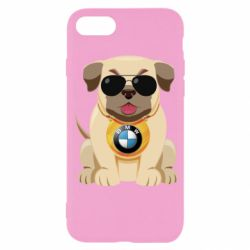Чохол для iPhone SE 2020 Dog with a collar BMW
