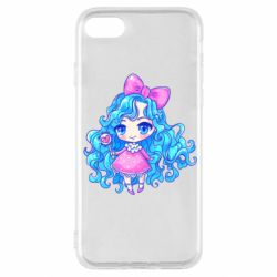 Чохол для iPhone SE 2020 Doll with blue hair